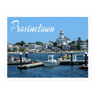 Cape Cod, carte postale de Provincetown mA