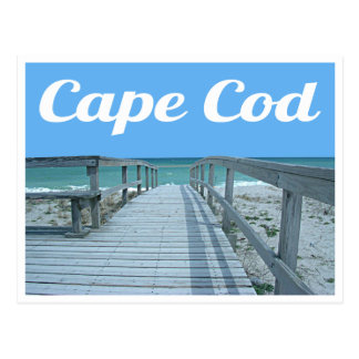 Cape Cod, carte postale du Massachusetts