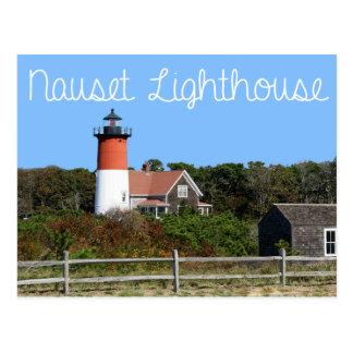 Cape Cod, phare de Nauset, Eastham, carte postale