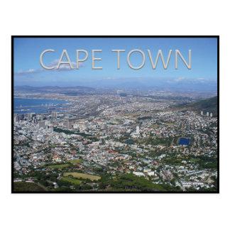 Cape Town - carte postale de l'Afrique du Sud