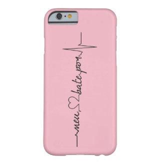 Capinhas Mon coeur bat par… Coque iPhone 6 Barely There