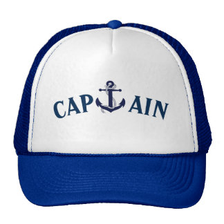 CAPITAINE ANCHOR SAILING HAT CASQUETTES