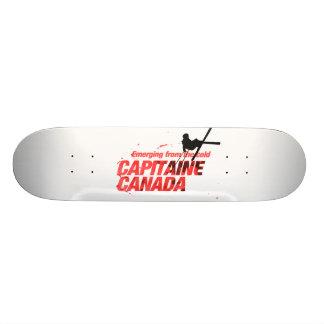 Capitaine Canada : Planches à roulettes