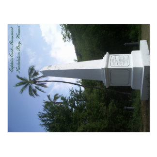 Capitaine Cook Monument Postcard Hawaï Carte Postale