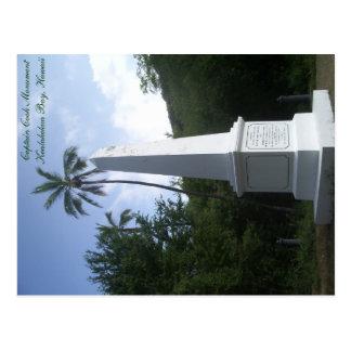 Capitaine Cook Monument Postcard Hawaï Cartes Postales
