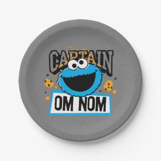 Capitaine Cookie Monster Assiettes En Papier
