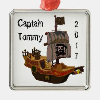 Capitaine de bateau de pirate ornement