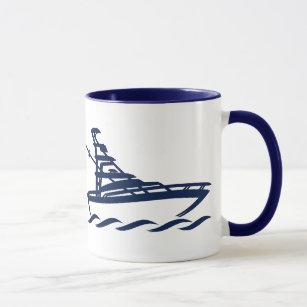 Capitaine de la tasse (personnalisable) de bateau