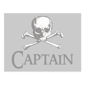 Capitaine de pirate cartes postales
