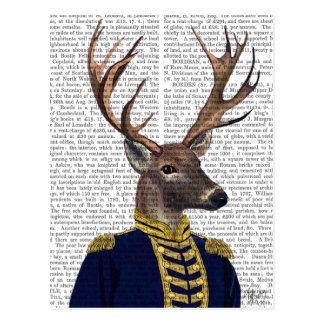 Capitaine Deer Carte Postale