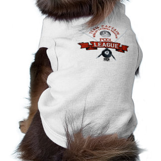 Capitaine d'équipe d'APA T-shirt Pour Chien
