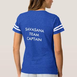 Capitaine d'équipe de Savasana - T-shirt en