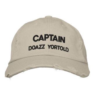CAPITAINE DOAZZ YORTOLD CASQUETTE BRODÉE