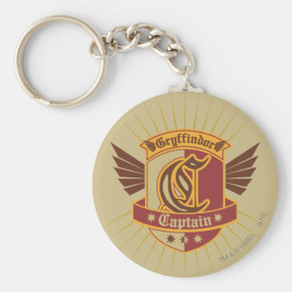 Capitaine Emble de Harry Potter | Gryffindor Porte-clés