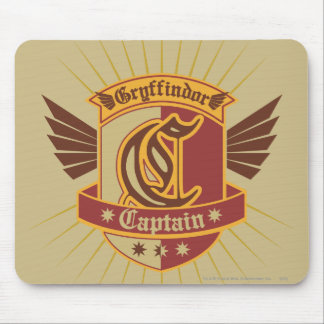 Capitaine Emble de Harry Potter | Gryffindor Tapis De Souris
