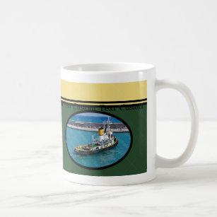 Capitaine fait sur commande Mug de bateau de