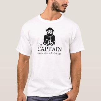Capitaine Fisherman de bateau T-shirt