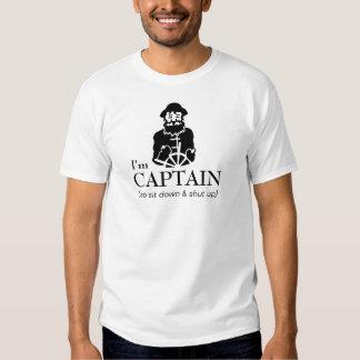 Capitaine Fisherman de bateau T-shirts