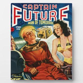 Capitaine Future et la boîte de cerveau Plaque D'affichage