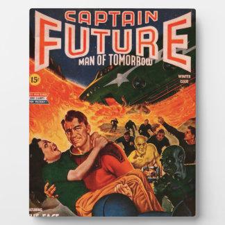 Capitaine Future et le volcan Impression Sur Plaque