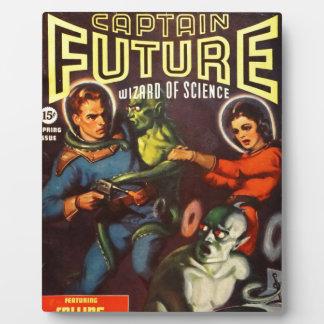 Capitaine Future et sort malheureux solaire Plaque D'affichage
