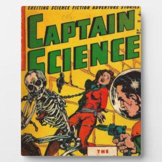 Capitaine la Science Photo Sur Plaque