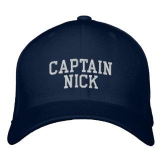 Capitaine Nick Casquette Brodée