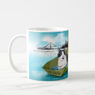 Capitaine Oliver et l'oasis de solides solubles Mug