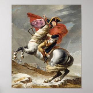 Capitaine Patrck et son coursier puissant Wade Posters