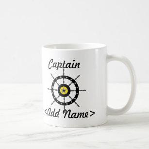Capitaine personnalisé Mug