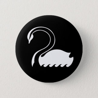 Capitaine Swan Flag Button Pin's
