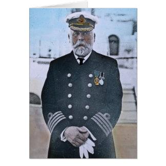 Capitaine titanique Edouard J. Smith de RMS Carte De Vœux