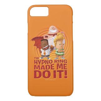 Capitaine Underpants   l'anneau de Hypno m'a Coque iPhone 7