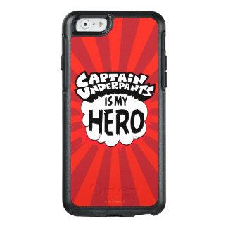 Capitaine Underpants   mon héros Coque OtterBox iPhone 6/6s