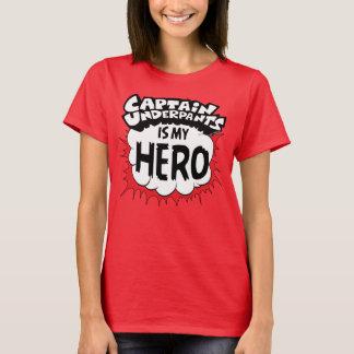 Capitaine Underpants   mon héros T-shirt