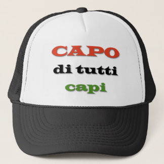 Capo/patron Casquette