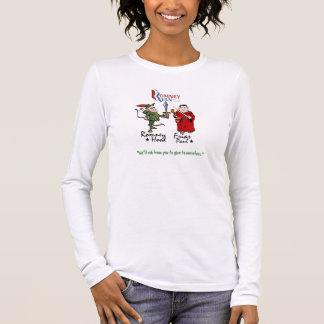 Capot et Frair Paul (Ryan) de Romney T-shirt À Manches Longues
