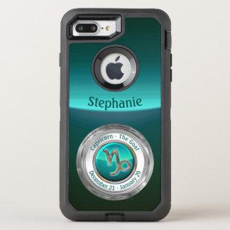 Capricorne - le signe de zodiaque de chèvre coque otterbox defender pour iPhone 7 plus