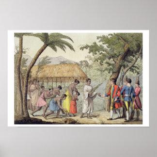 Captain Samuel Wallis (1728-1830) étant b reçu Posters