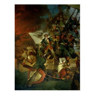 Capture d'Azov, le 18 mai 1696 Carte Postale