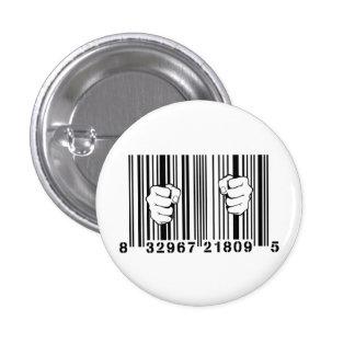 Capturé par la prison de code barres du consommati badge