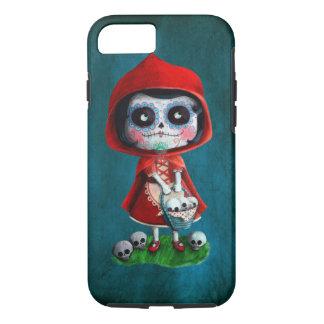 Capuchon de rouge de Dia de los Muertos Little Coque iPhone 7