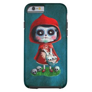 Capuchon de rouge de Dia de los Muertos Little Coque Tough iPhone 6