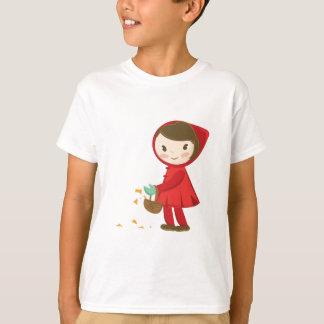 Capuchon rouge t-shirt