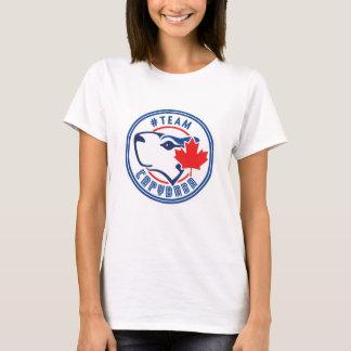 Capybara d'équipe t-shirt