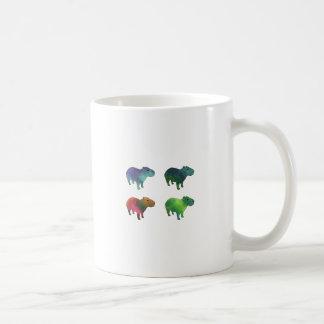 Capybaras de l'espace mug