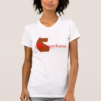 Capybaras du coeur I T-shirt