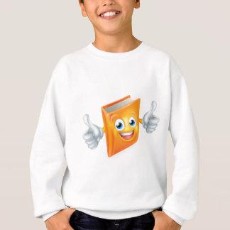 Caractère de livre de bande dessinée sweatshirt