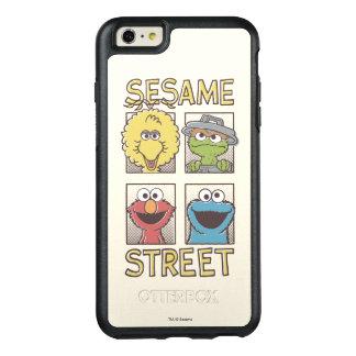 Caractère de StreetVintage de sésame comique Coque OtterBox iPhone 6 Et 6s Plus