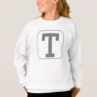 Caractère gras T Sweatshirt